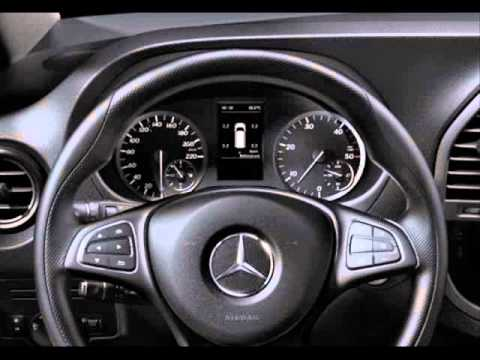 All New 2015 Mercedes Benz Vito Interior Youtube