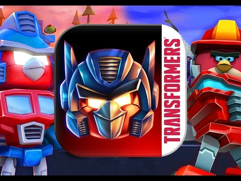 All Angry Birds Transformers Robot to Vehicle