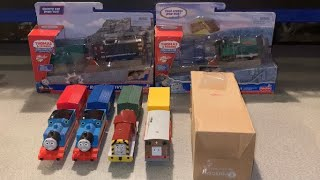 The Vicarage Orchard ~ A NEW THOMAS VARIATION!!! TrackMaster Deluxe Engines/unboxing & comparison