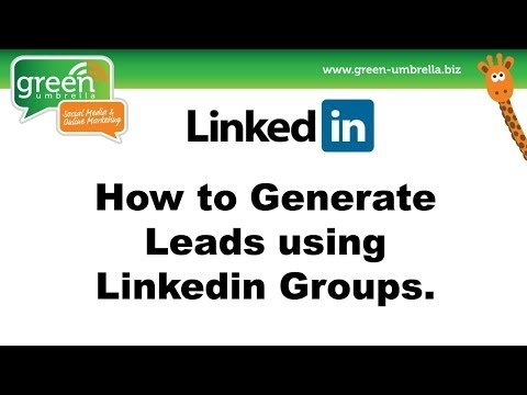 How to find leads using Linkedin Groups