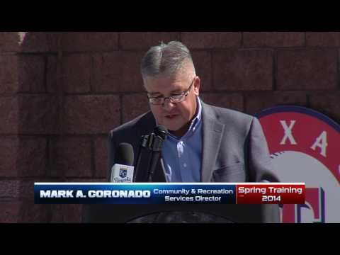 Texas Rangers & Kansas City Royals - Welcome Back to Spring Training 2014