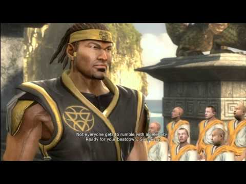MK9 story mode Chaper 4: Cyrax cutscenes