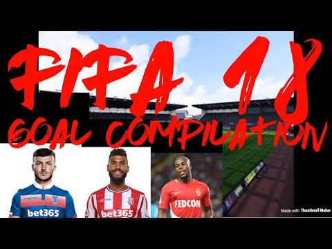 Fifa 18 goal compilation