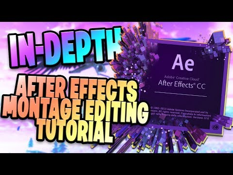 HOW TO CREATE A SICK FORTNITE MONTAGE (For Beginners) - After Effects Editing Tutorial