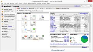 Sage 50 Accounting Lesson 1 1 The Sage 50 Environment