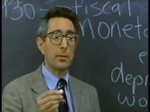 Anyone? Anyone?  Ben Stein from Ferris Bueller's Day Off