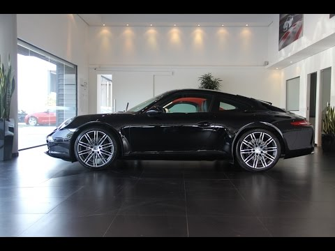 911 porsche 991 black edition