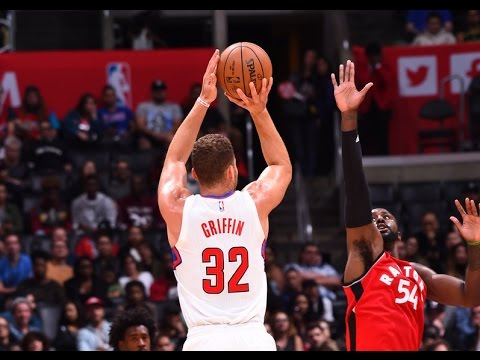 Blake Griffin Hangs 24 on Raptors in LA Clippers Win