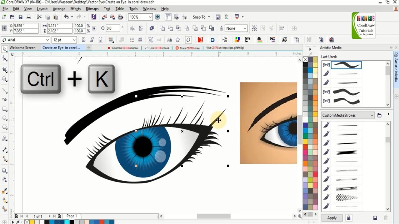😍 Corel draw tutorials videos download | CorelDRAW Graphic Suite X7