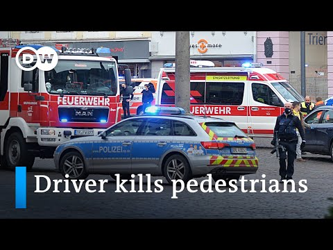 Vehicle driver kills 5, injures several in the German city of Trier