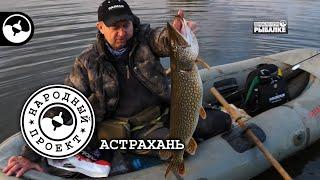 Рыбалка в Астрахани Колдовское озеро Народный проект