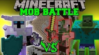 Repeat youtube video KNIGHT VS TONS OF ZOMBIES - Minecraft Mod Battle - Mob Battles - Mods