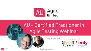 Agile United Webinar Recording with Authors/Master Trainers Carlo van Driel & Bas Kruip