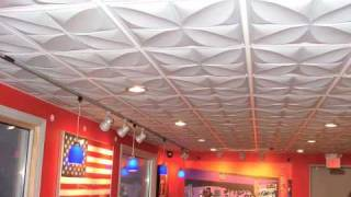 Ceiling Tiles - Why Thin is In!
