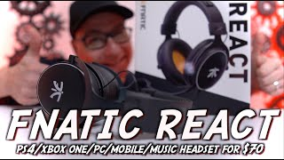 Fnatic React Gaming Headset Review, SAME BUILD BETTER SOUND!
