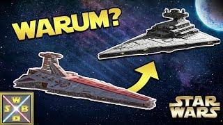 Star Wars: Warum alle Venator Sternenzerstörer vom Imperium ersetzt wurden [Legends]