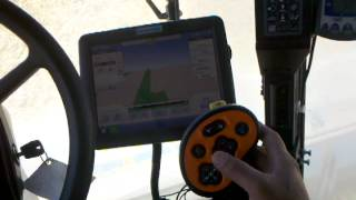 piscando trigo en 7130 case axial flow combine