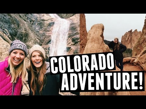 Colorado Adventure// Garden of the Gods & Seven Falls