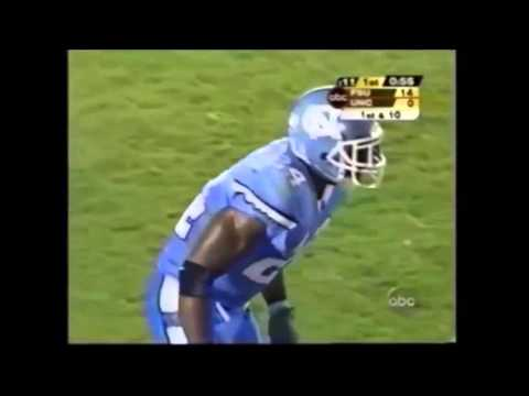 Greg Jones 2003 Return vs UNC & Dexter Reid
