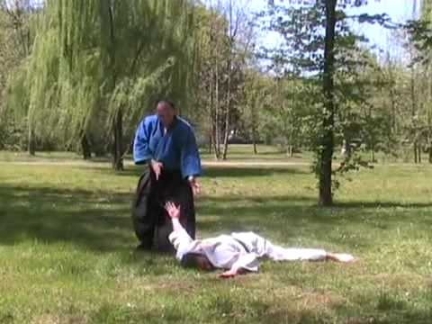 AIKIDO-REAL SELF-DEFENSE - Ude osae - Elbow control