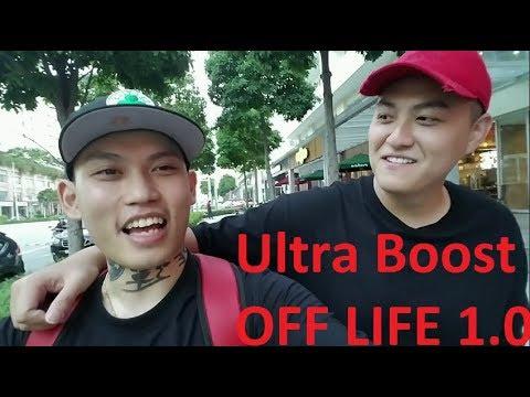 Ultra Boost OFFWHITE đầu tiên tại Việt Nam ft Fabo Nguyen (Vlog 73)