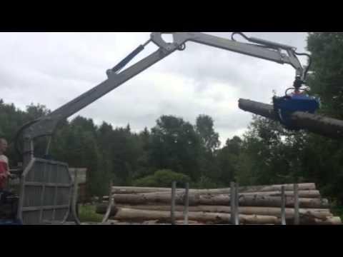 Scandic forest trailer