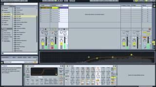Ableton Live 9 урок по созданию трека в стиле Techno