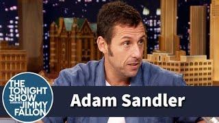 Adam Sandler Shares Some Daddy Pool Advice