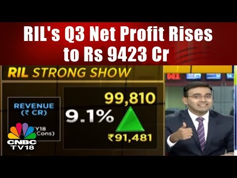 RIL's Q3 Net Profit Rises to Rs 9423 Cr; Reliance JIO Clocks Profit || CNBC TV18
