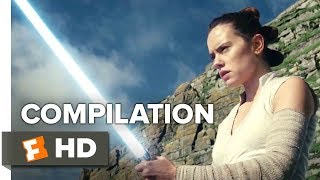 Star Wars: The Last Jedi ALL Trailers + Extras (2017) | Movieclips Trailers - yt to mp4