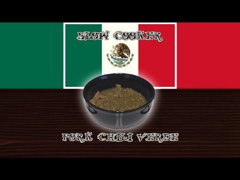 Slow Cooker Pork Chili Verde - Worldly Cuisines #0002