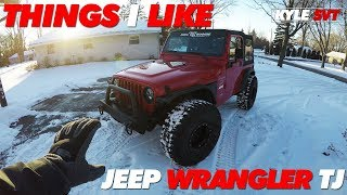 What I like about my Jeep Wrangler TJ | Is it for You?