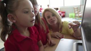 """""""It gives them self-confidence to love school."""" - ABCmouse.com Parent/Teacher Testimonial"""