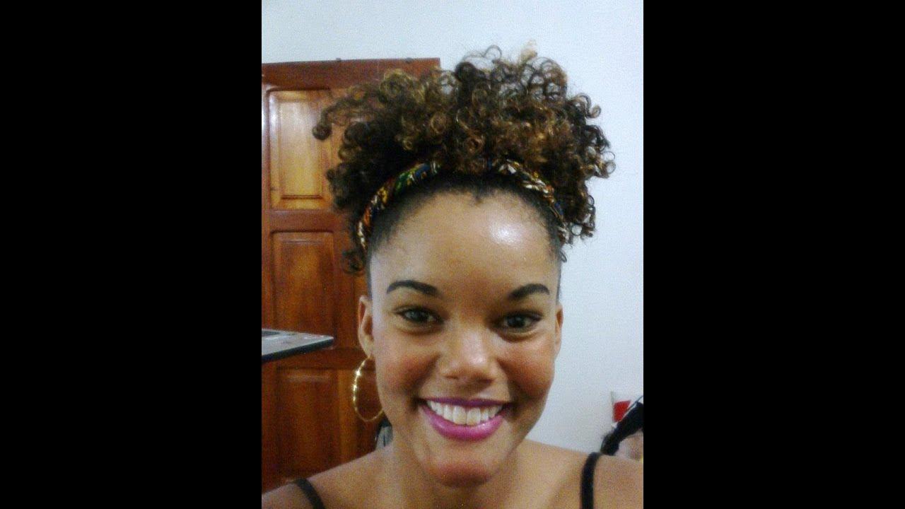 Afro Puff Ponytail Natural Hair