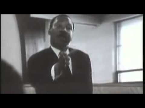 Rare Dr Martin Luther King Jr Speaking on Federal Subsidies for White Land Owners