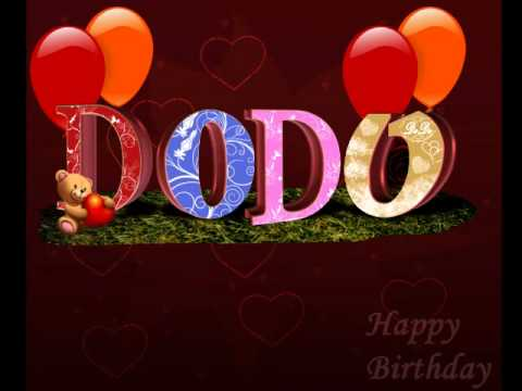 Happy Birthday Dodo Wmv Youtube