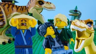 LEGO Jurassic World & Ninjago STOP MOTION LEGO Animation for Kids | LEGO Videos | Billy Bricks