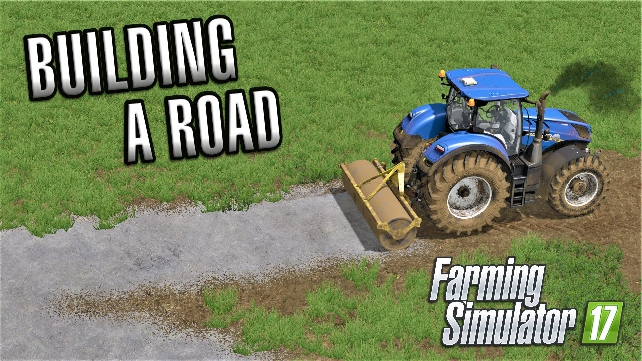 Farming simulator 2017 building a road sandy bay for Build your own house simulator