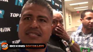 Robert Garcia: His Fighters Weight Loss Problems, Blurry Vision