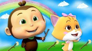 heittää ja noutaa | piirrettyjä lapsille | hauskoja videoita | Throw And Fetch | Loco Nuts