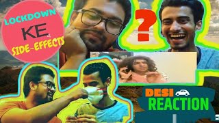 DESI INDIAN GUY Reacted on LOCKDOWN KE SIDE EFFECTS | Feat. Ashish Chanchlani | DESI REACTION