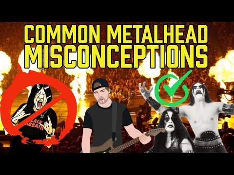 15 common metalhead misconceptions (DEBUNKED)