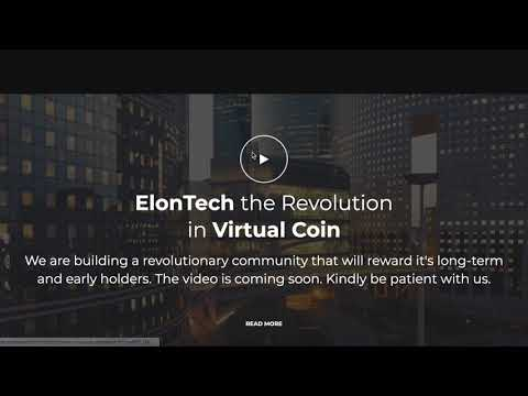 ElonTech (ETCH)The first tech valley crypto token,will be Safemoon 2.0-1000x potential with no dumps