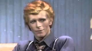 David Bowie high on coke
