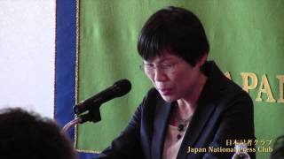 Midori Terui, haiku poet 第16回記者研修会で、俳人の照井翠・岩手県...