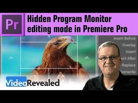 Hidden Program Monitor Editing mode in Adobe Premiere Pro