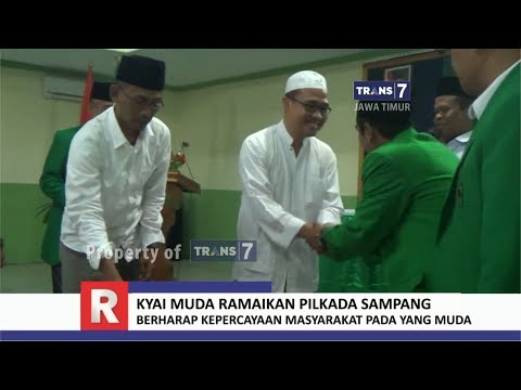 TRANS7 JATIM - Sosok Kyai Muda, Ramaikan Jelang Pilkada Sampang