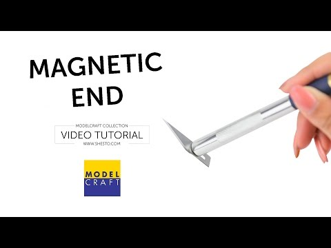 Craft Knife with Magnetic End