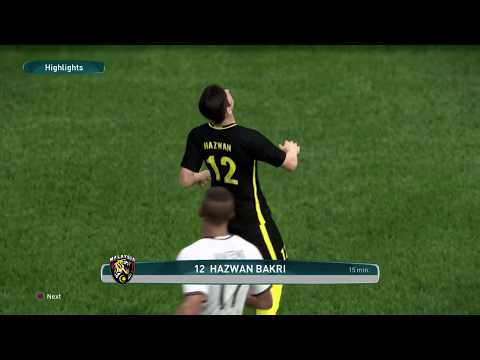PES2017 - MALAYSIA Vs GERMAN - Version 2.0 (PS4)
