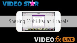 Sharing MultiLayer Presets